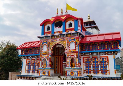 The replica of badrinath temple of Uttarakhand india at namchi,Sikkim,India.