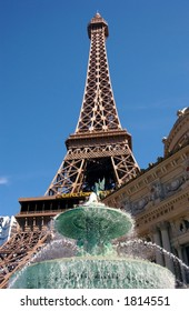 A replica of France's landmark symbol and masterpiece, the Eiffel Tower.