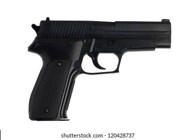 Replica gun isolated on white