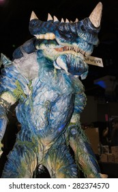 A replica of a Kaiju creature at Stan Lee's Comikaze Expo in Los Angeles, California, October 2014.