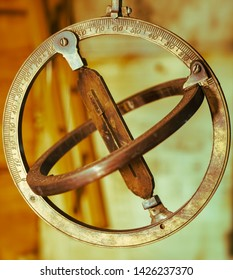replica of a medieval astrolabe which is a navigation instrument capable of 43 different astronomical calculations