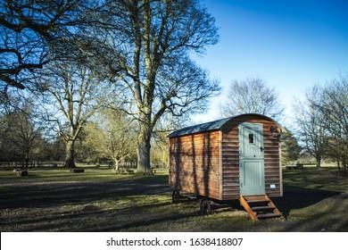 Replica of old Shepherds Hut