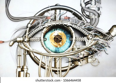 representation of bionic eye