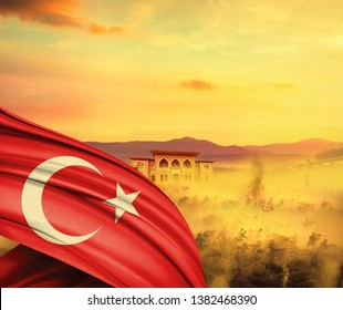 Republic day of Turkey. 29 Ekim Cumhuriyet Bayrami. October 29 Republic Day.