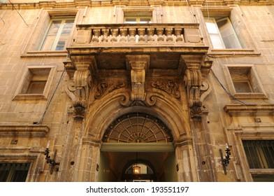 Republic of Malta, the picturesque city of Valetta