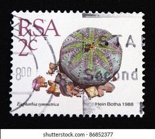 REPUBLIC OF SOUTH AFRICA - CIRCA 1988: A stamp printed in Republic of South Africa shows hein botha , circa 1988