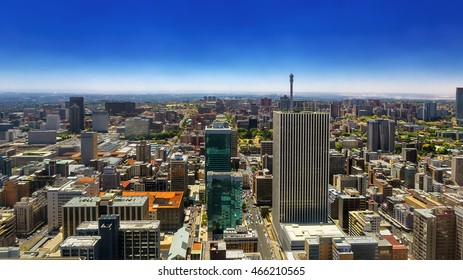 Republic of South Africa. Johannesburg, Gauteng Province. Cityscape