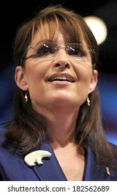 Republican vice presidential candidate Alaska Governor Sarah Palin at a public appearance for Sarah Palin Campaign Stop in Pennsylvania, River Front Sports Complex, Scranton, PA, October 14, 2008