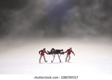 Rescue Team in emergency