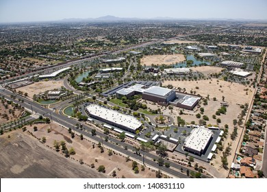 Research Park off the Loop 101 freeway in Chandler, Arizona