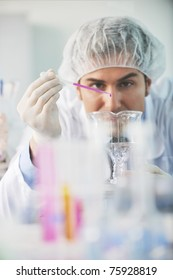 research and  science doctor student  people  in bright laboratory representing chemistry education and medicine concept