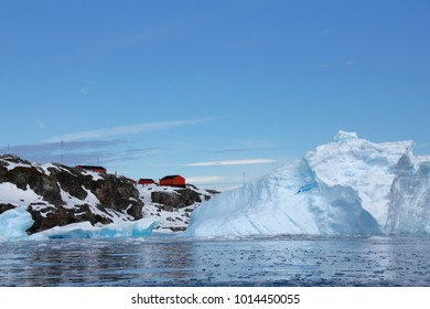 Research Station in Cierva Cove, Antarctica