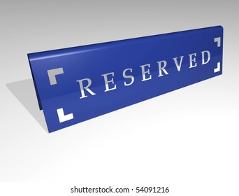 Reserved card