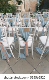 Reserved Seats at Wedding Ceremony