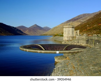 The Reservoir beneath the Mountains of Mourne, Northern Ireland.