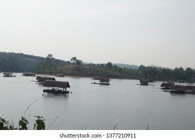 Reservoir in Phitsanulok Province, Thailand Tourist attractions in Phitsanulok province in Thailand