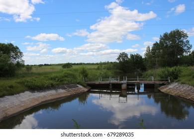 Reservoir/Summer Landscape
