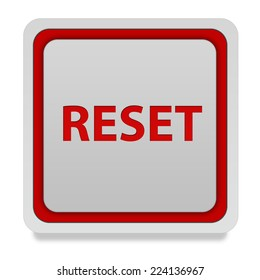 reset square icon on white background