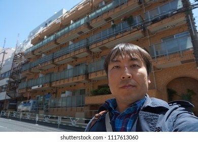 residence area located between daikanyama and shibuya in tokyo, japan