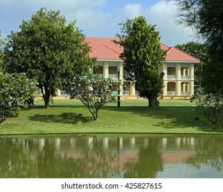 Residence building at the Bang Pa-In royal summer palace near Ayutthaya, Thailand