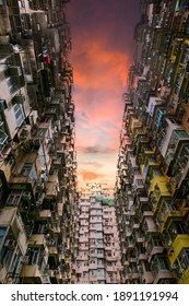 Resident builing in Hong Kong