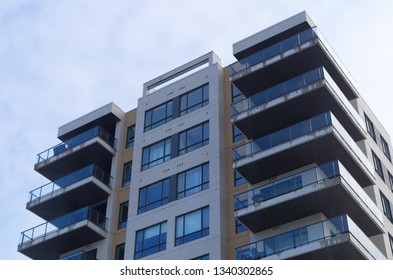 residential apartment building balcony rental modern house