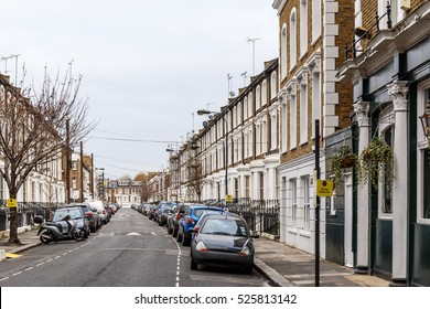 Residential area in Hammersmith, London