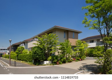 Residential area near Tokyo