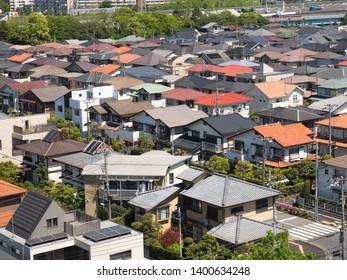 Residential area near Tokyo, Japan