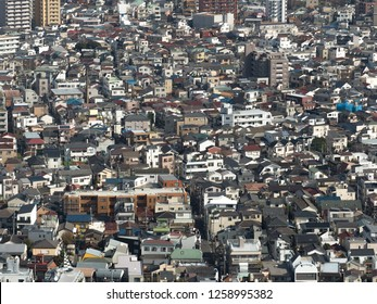 Residential area in Tokyo