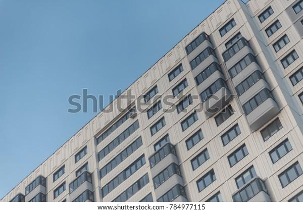 residential building condominium skyscraper modern architecture.