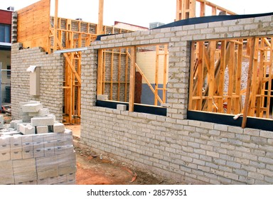 Residential Building Construction Site