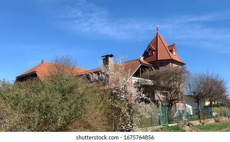 Ein Wohngebäude in Deutschland