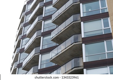 residential building modern apartment balcony condo