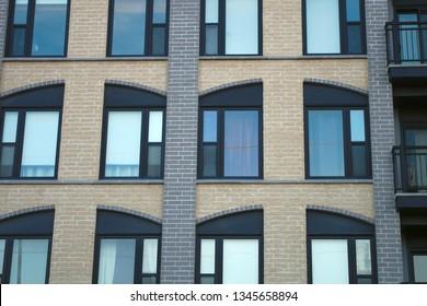 residential building modern apartment condo