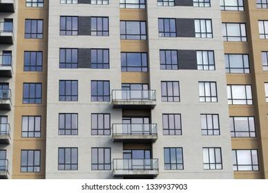 residential building modern apartment full frame condominium architecture