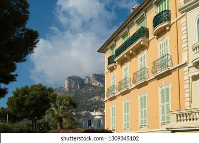 residential building in the old center of Monaco