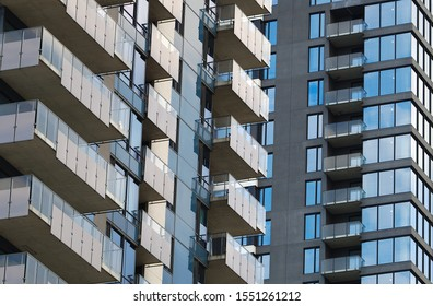 residential building skyscraper condominium apartment balcony tower