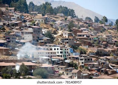 Residential Buildings, Cusco, Peru