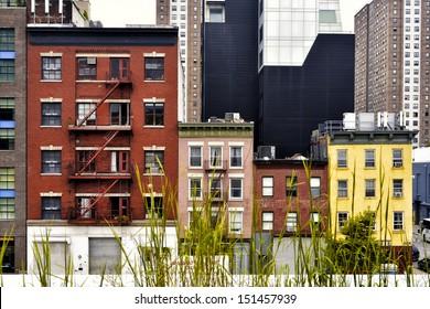 Residential Buildings in New York City