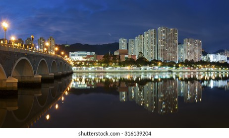 Residential district of Hong Kong