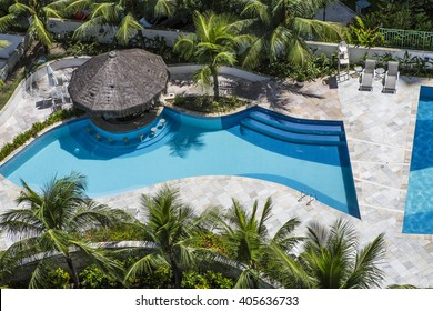 Residential in ground swimming pool