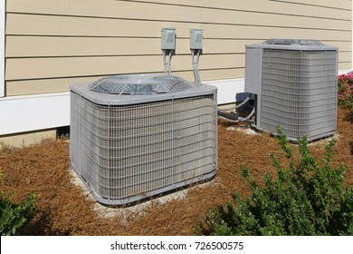 Residential house air conditioner compressor units