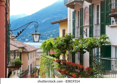 Residential house at lake Como in Northern Italy