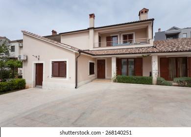 residential house in mediterranean
