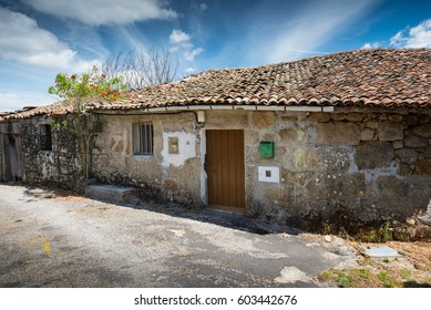 residential house with stable in little village in Galicia, Spain