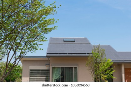 Residential image with skylight