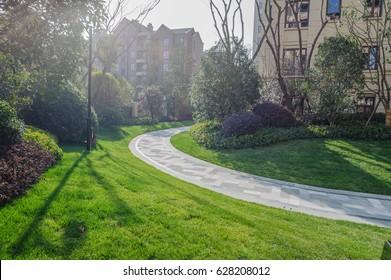 Residential landscape greening