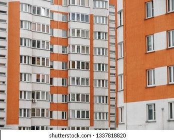 residential new home. new building. multi-storey residential complex.