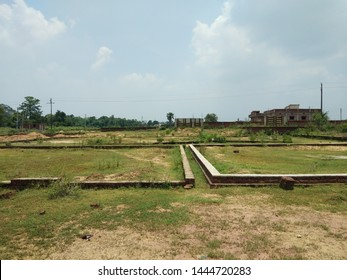 residential plot boundarywall land plotting realestate - Shutterstock ID 1444720283